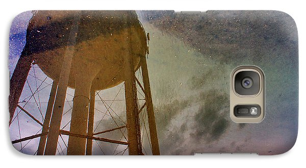 Galaxy Case featuring the photograph Reflected Necessity by Jason Politte