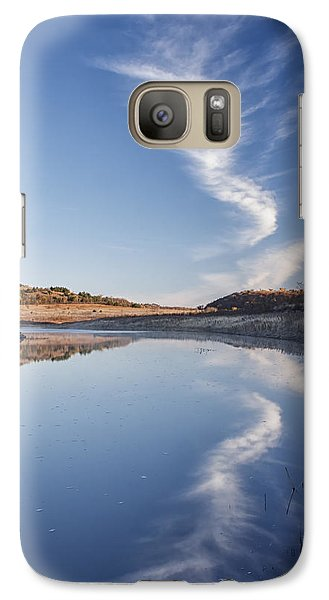 Galaxy Case featuring the photograph Reflected by Scott Bean