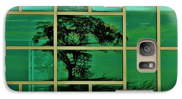 Galaxy Case featuring the photograph Reflected Tree Framed by Craig Wood