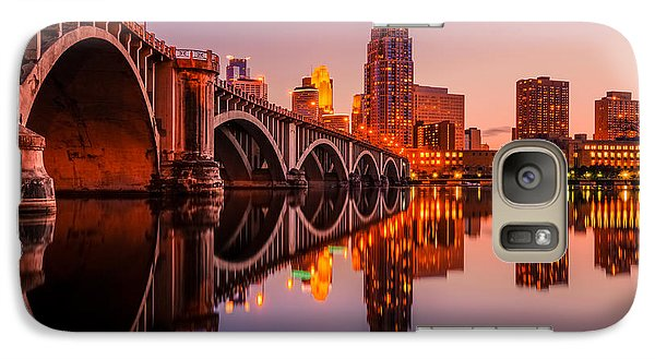 Galaxy Case featuring the photograph Reflecting Beauty Minneapolis Mn by RC Pics