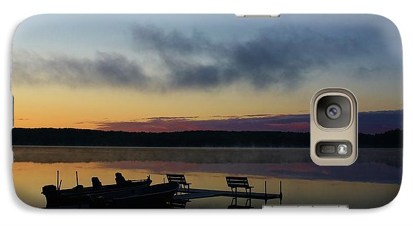 Galaxy Case featuring the photograph Reflecting Lake by Bruce Bley