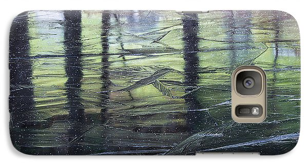 Galaxy Case featuring the photograph Reflecting On Transitions by Mary Amerman