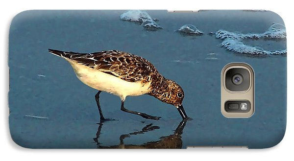 Galaxy Case featuring the photograph Reflection At Sunset by Sandi OReilly