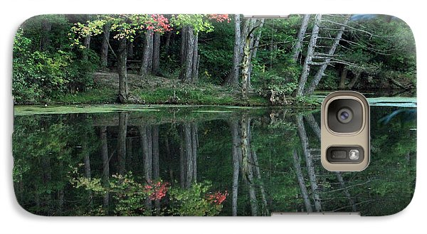 Galaxy Case featuring the photograph Reflection by Bruce Patrick Smith