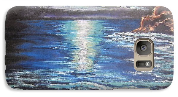 Galaxy Case featuring the painting Reflection by Cheryl Pettigrew