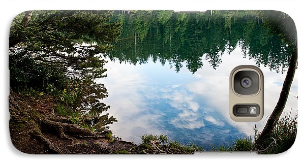 Galaxy Case featuring the photograph Reflection by Crystal Hoeveler