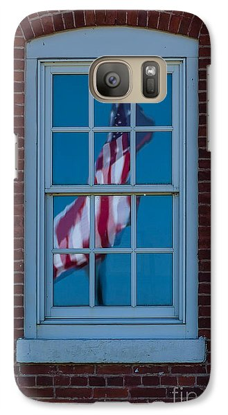Galaxy Case featuring the photograph Reflection Of Freedom by Patrick Shupert