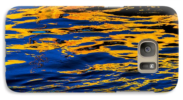 Galaxy Case featuring the photograph Reflection On Salish Sea by Craig Perry-Ollila