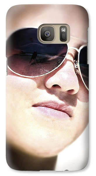 Galaxy Case featuring the photograph Reflection by Pennie  McCracken