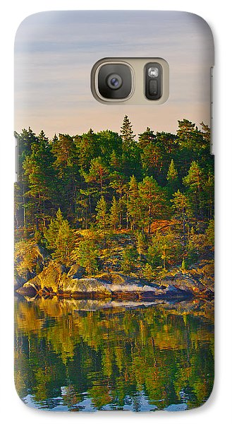 Galaxy Case featuring the photograph Reflections 2 Sweden by Marianne Campolongo