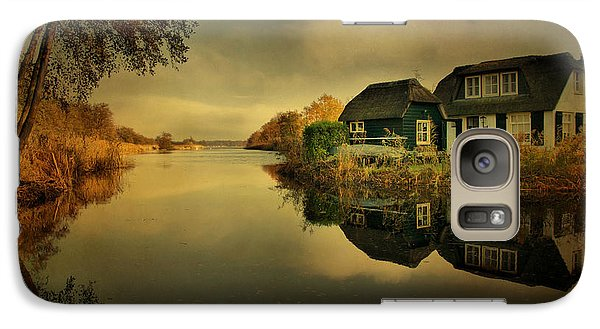 Galaxy Case featuring the photograph Reflections by Annie Snel