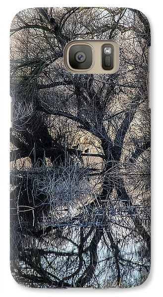 Galaxy Case featuring the photograph Reflections by Brian Williamson