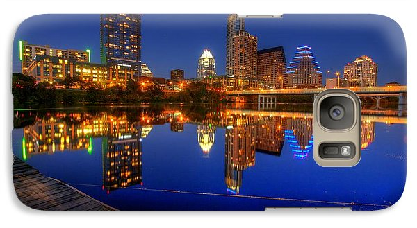Galaxy Case featuring the photograph Reflections by Dave Files