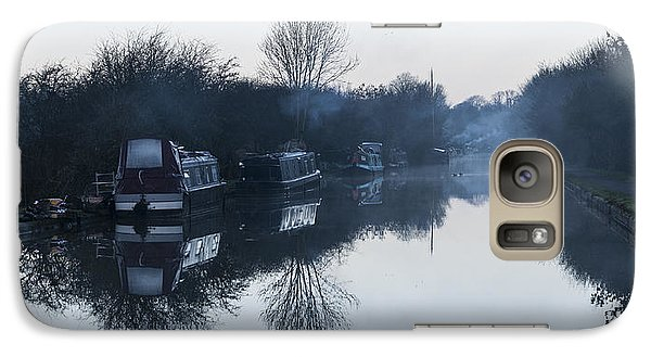 Galaxy Case featuring the photograph Reflections by David Isaacson