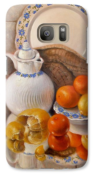 Galaxy Case featuring the painting Reflections by Donelli  DiMaria