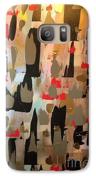Galaxy Case featuring the painting Reflections In A Golden Eye by Theresa Kennedy DuPay