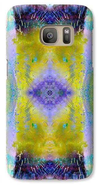 Galaxy Case featuring the photograph Reflections In Ice by Nina Silver