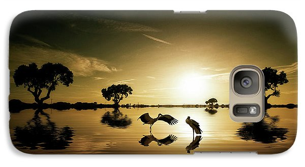 Reflections In The Lake Galaxy S7 Case