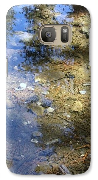 Galaxy Case featuring the photograph Reflections by John Glass