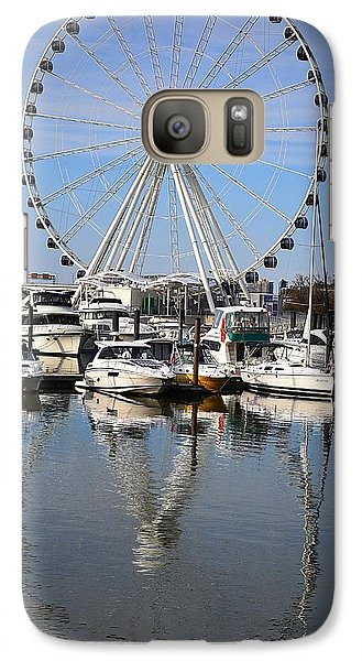 Galaxy Case featuring the photograph Reflections by Mary Zeman