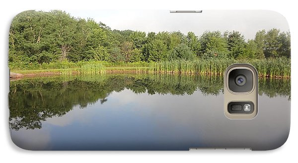 Galaxy Case featuring the photograph Reflections Of A Still Pond by Michael Porchik