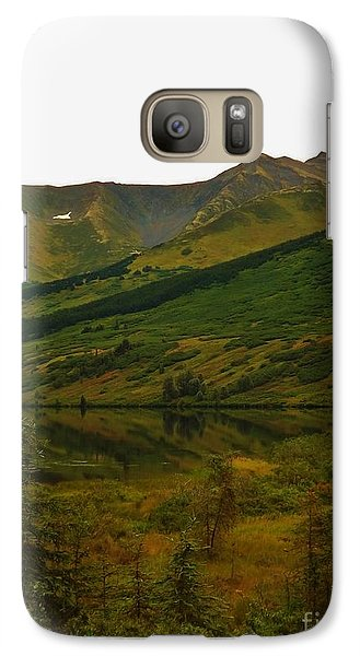 Galaxy Case featuring the photograph Reflections Of Alaska's Spring by Brigitte Emme