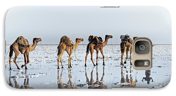 Camel Galaxy S7 Case - Reflections Of An Ancient Life by Trevor Cole