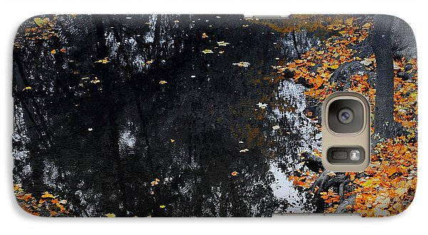 Galaxy Case featuring the photograph Reflections Of Autumn by Photographic Arts And Design Studio