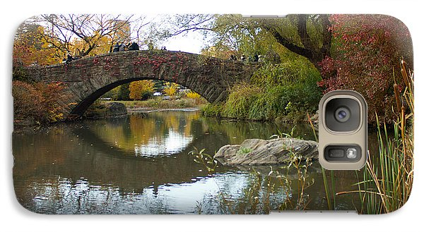 Galaxy Case featuring the photograph Reflections Of Gapstow Bridge by Jose Oquendo