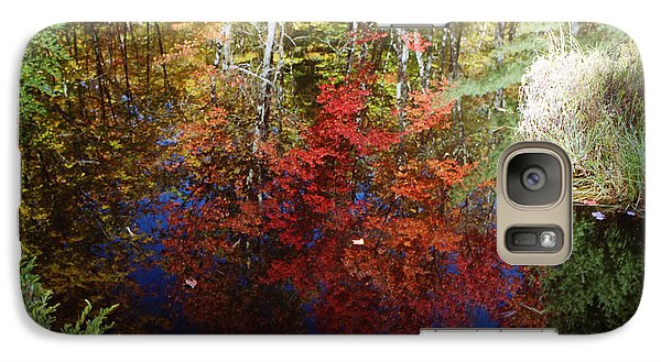 Galaxy Case featuring the photograph Reflections On Algonquin by David Porteus