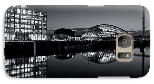 Galaxy Case featuring the photograph Reflections On The Clyde  by Stephen Taylor