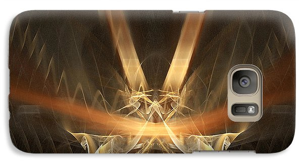 Galaxy Case featuring the digital art Reflections by R Thomas Brass