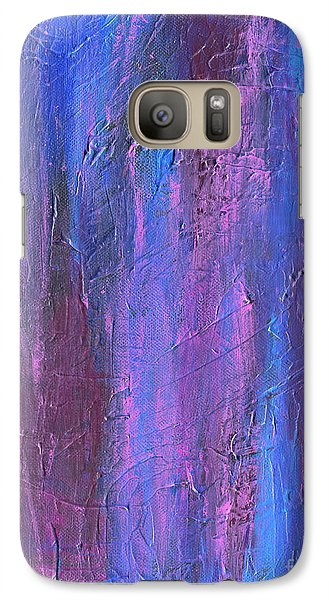 Galaxy Case featuring the painting Reflections by Roz Abellera Art