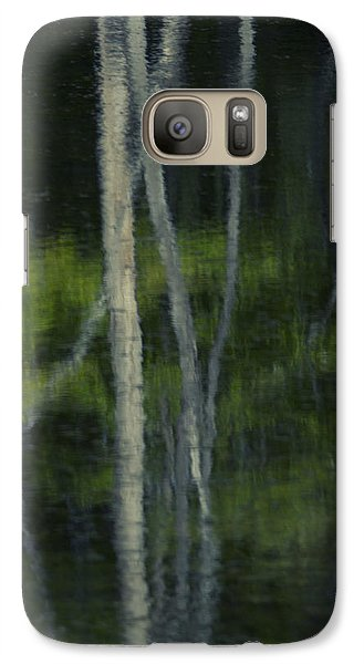 Galaxy Case featuring the photograph Reflections by Skip Tribby
