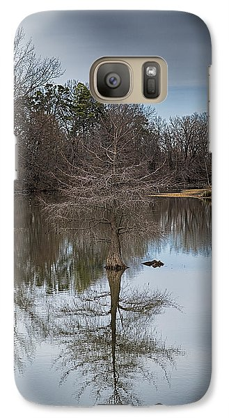 Galaxy Case featuring the photograph Reflections by Yvonne Emerson AKA RavenSoul