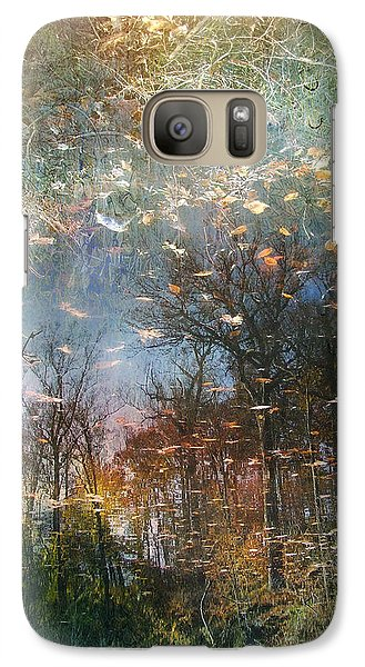 Galaxy Case featuring the photograph Reflective Waters by John Rivera