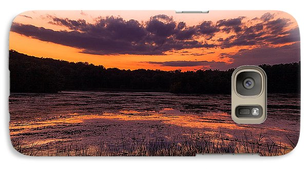 Galaxy Case featuring the photograph Refractions by Jason Naudi Photography