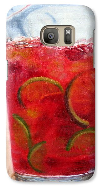 Galaxy Case featuring the painting Refreshing by LaVonne Hand
