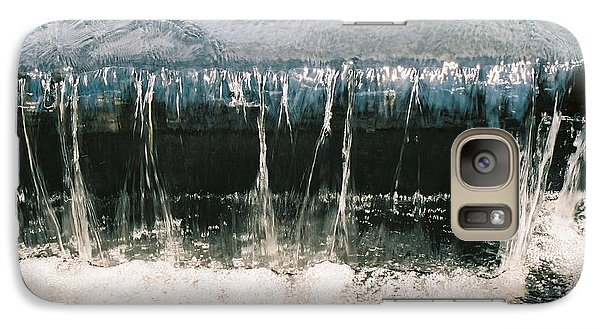 Galaxy Case featuring the photograph Refreshing Waterfall by Ramona Whiteaker