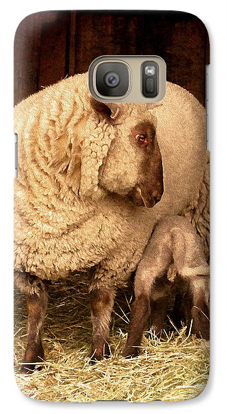 Galaxy Case featuring the photograph Refuel by Kathy Bassett