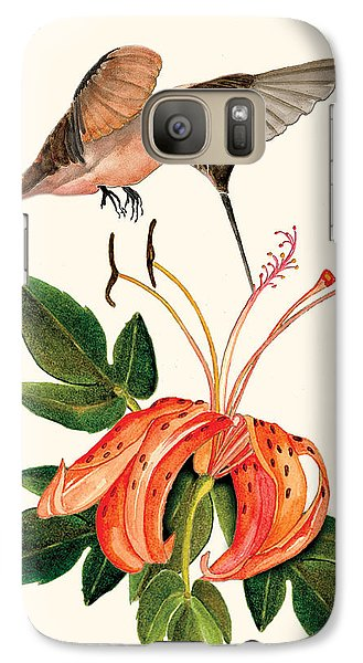 Galaxy Case featuring the painting Refueling In Flight by Anne Beverley-Stamps