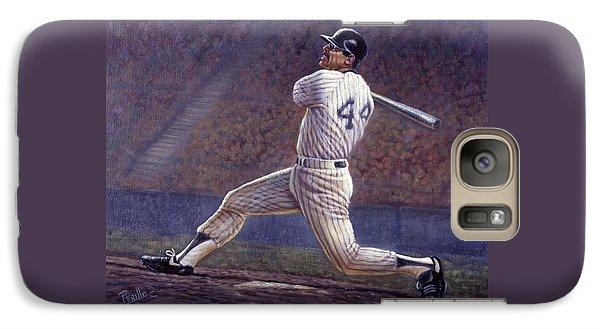 Oriole Galaxy S7 Case - Reggie Jackson by Gregory Perillo