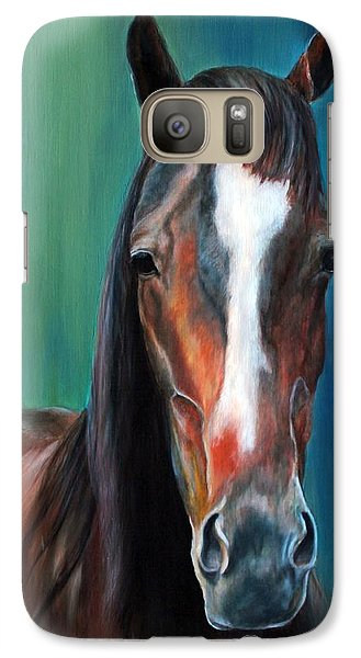 Galaxy Case featuring the painting Reggie by Jennifer Godshalk