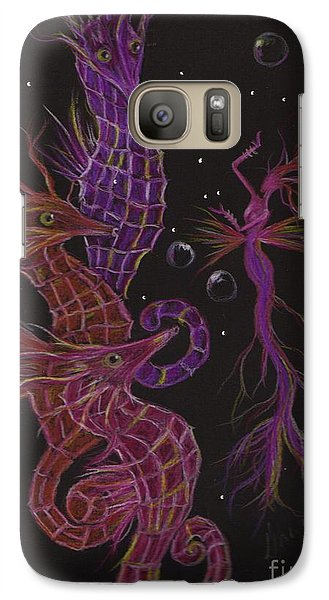 Galaxy Case featuring the drawing Rehearsal by Dawn Fairies
