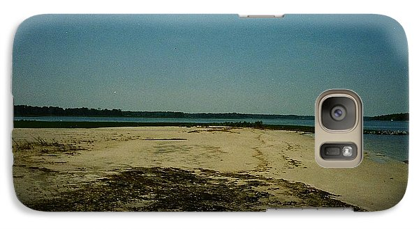 Galaxy Case featuring the photograph Rehoboth Bay Beach by Amazing Photographs AKA Christian Wilson