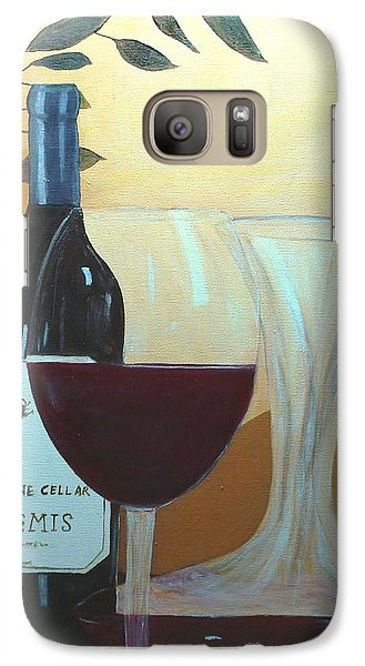 Galaxy Case featuring the painting Relax And Enjoy by June Holwell
