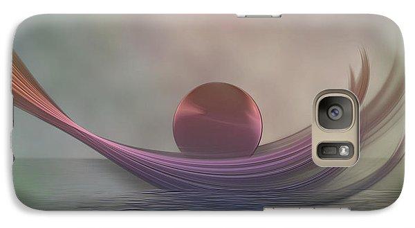 Galaxy Case featuring the digital art Relax by Gabiw Art
