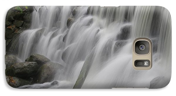 Galaxy Case featuring the photograph Relaxation Falls by Nikki McInnes