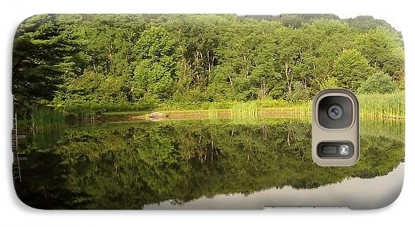 Galaxy Case featuring the photograph Relaxation by Michael Porchik