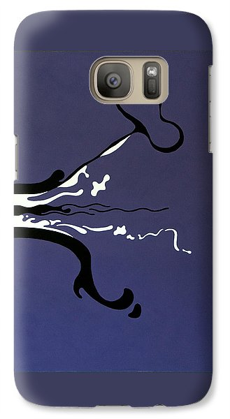 Galaxy Case featuring the painting Release by Thomas Gronowski